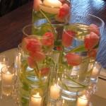 decoração de casamento com velas