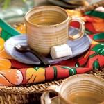 decoração de chá bar