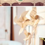 Cataventos na decoração do casamento