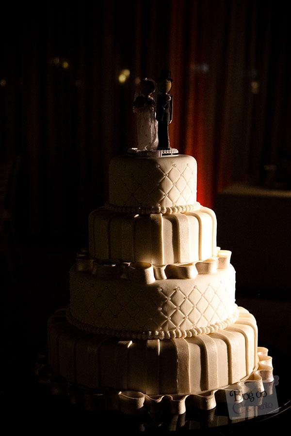 O bolo de casamento