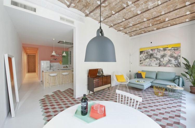 Inspiração: Apartamento retrô 97m2
