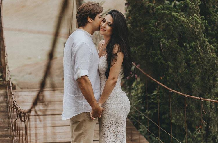 Casamento civil em casa: Flávia e Nandão