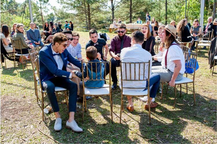 As vantagens da cerimônia e festa de casamento no mesmo local
