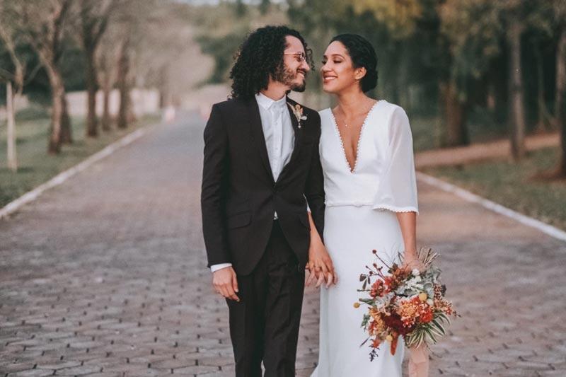 Mini wedding em casa: Gabi e Dhiogo