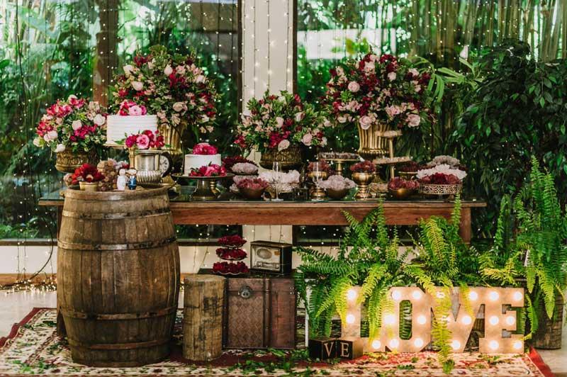 Casamento rústico: inspirações para combinar com a sua festa