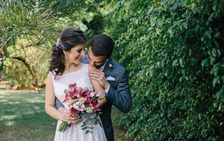 Casamento civil: Ludmila e Vitor