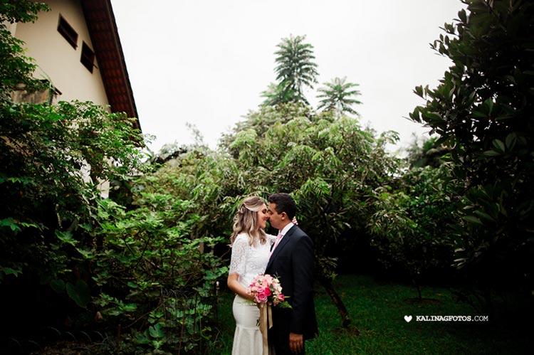 Mini wedding em Joinville: Dyane e Eduardo