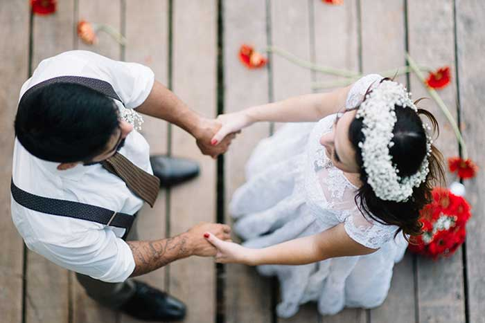 Quase nada para ser feliz: Casamento Elen & Vinicius