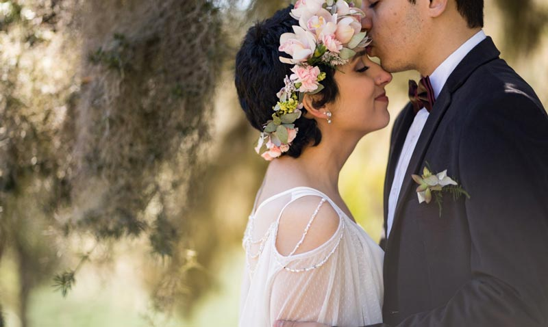 Casamento ao ar livre: Marcelle e Leonardo