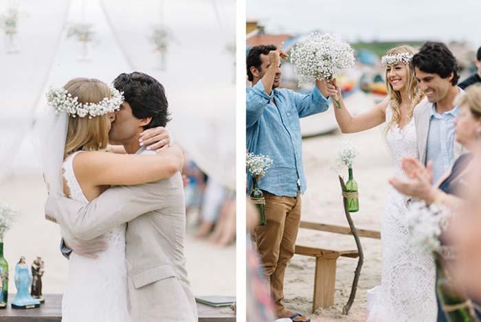 Casamento na praia: Emily e Bruno