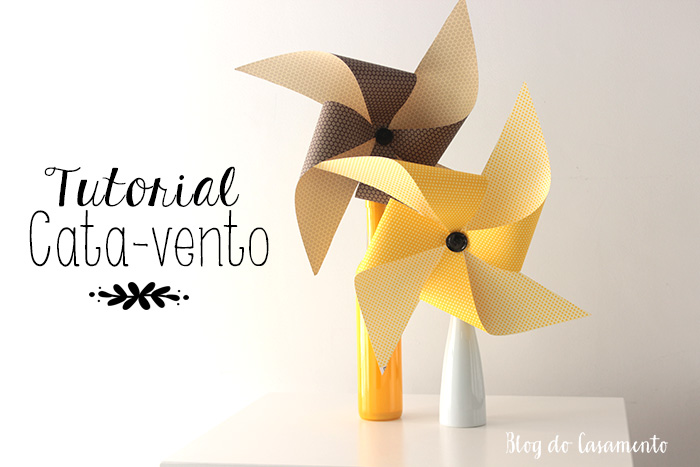 Faça você mesmo: decoração com cata-ventos