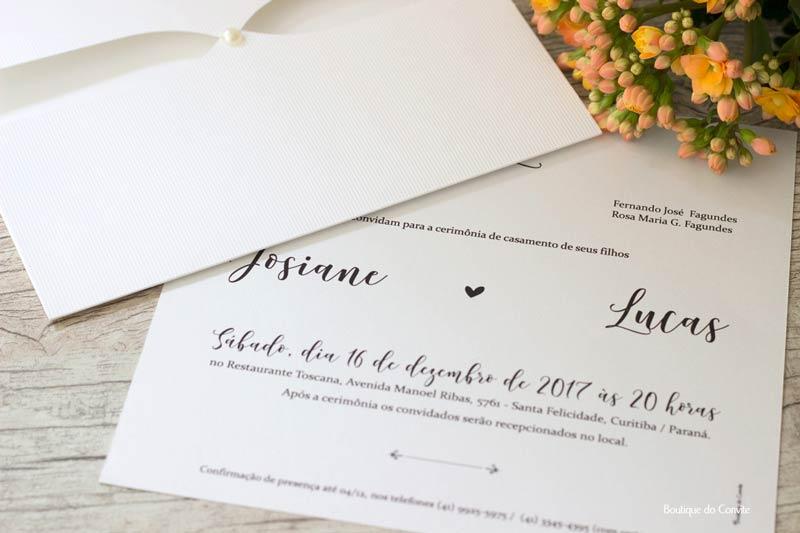 Convite de casamento: Quem convida? Os pais ou os noivos?