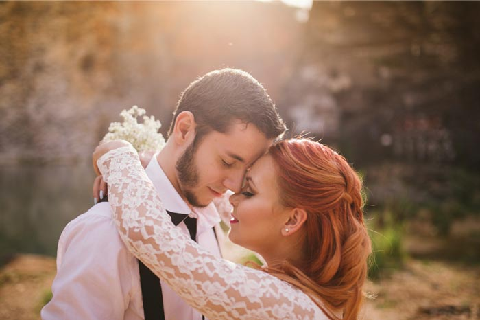 Pré wedding Vintage: Malu e Allan