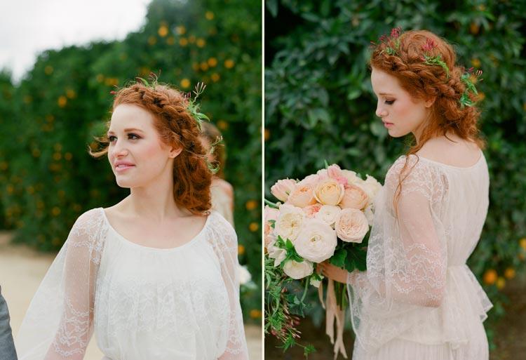Inspirações: penteados para noivas com cabelo longo