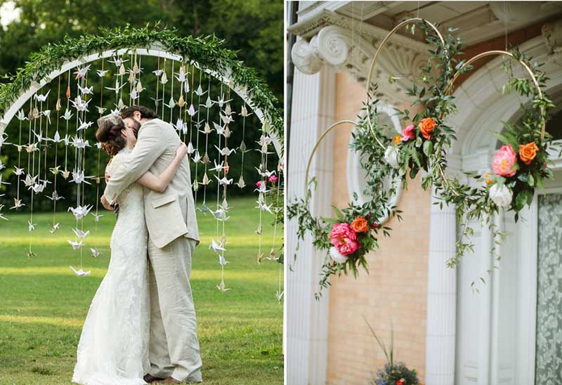 Coisinhas que amamos: Painel de fundo ou backdrop de casamento