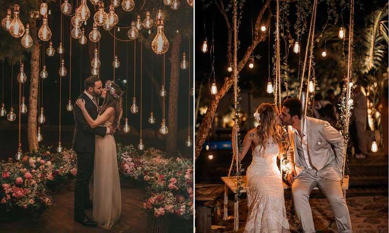 Tendências do Pinterest para casamentos em 2019