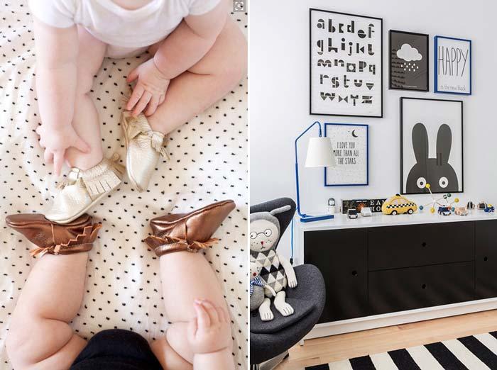 Decoração atemporal para o quarto do bebê