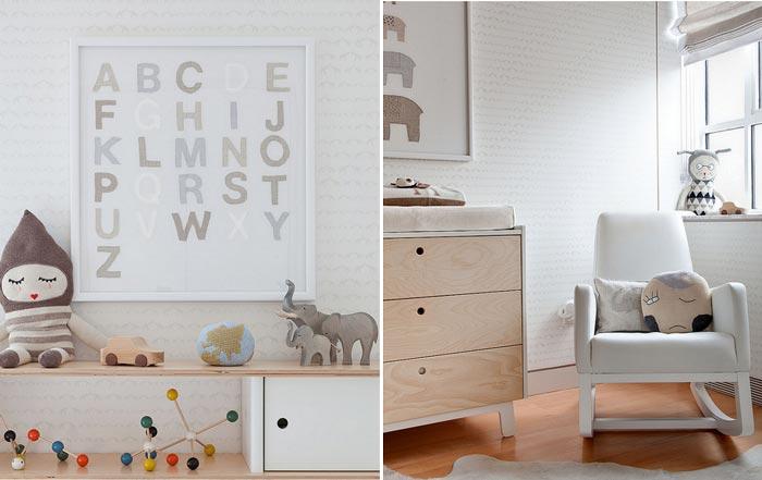 Inspiração para quarto de bebê: Tons neutros