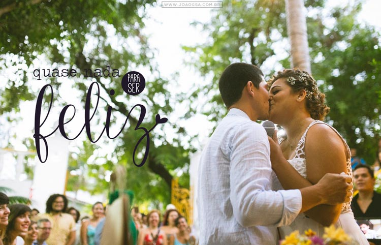 Quase nada para ser feliz (casamento econômico #39) Ilana e Lucas