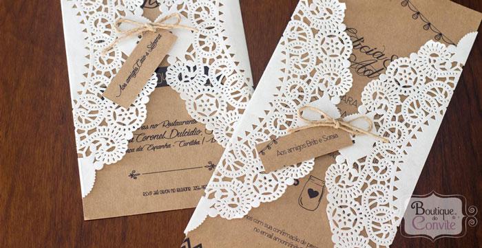 5 convites de casamento com preços incríveis da nova coleção da Boutique do Convite