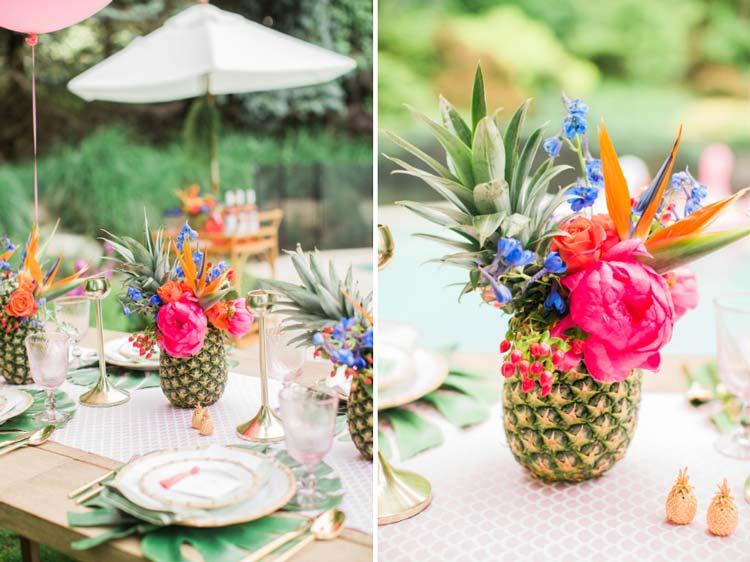 #coisinhasqueamamos: Abacaxi na decoração