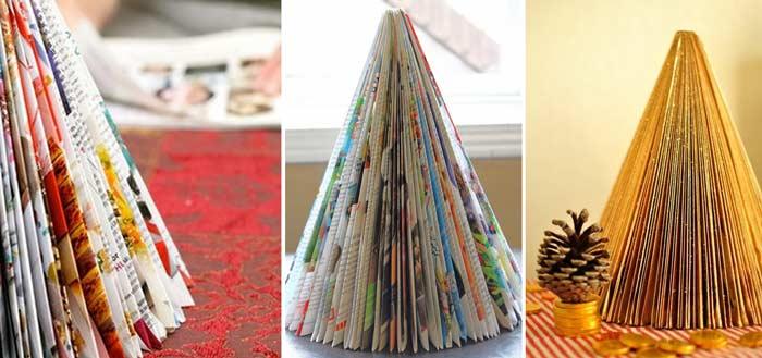 Árvore natalina de revista – Passo a Passo