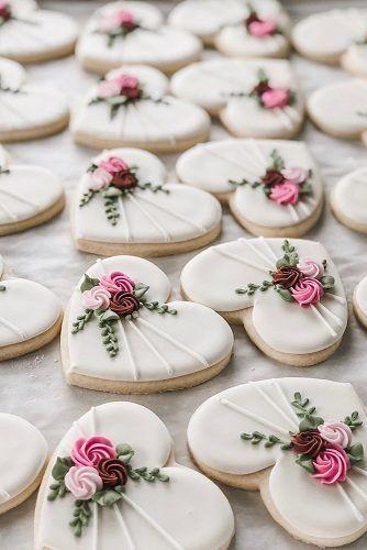 Biscoitos personalizados para casamento