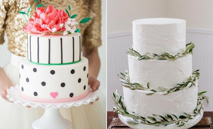 As vantagens do bolo fake