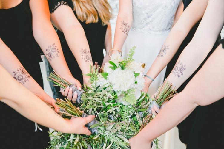 10 inspirações de buquês aromáticos para casamento
