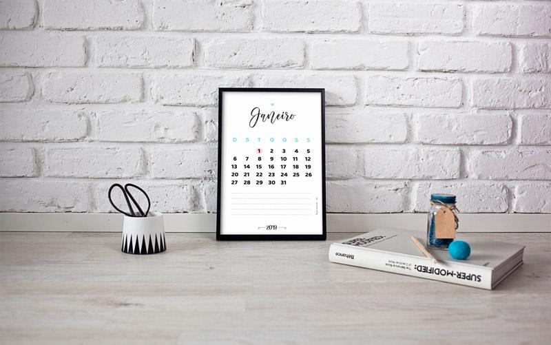 Download de calendário 2019