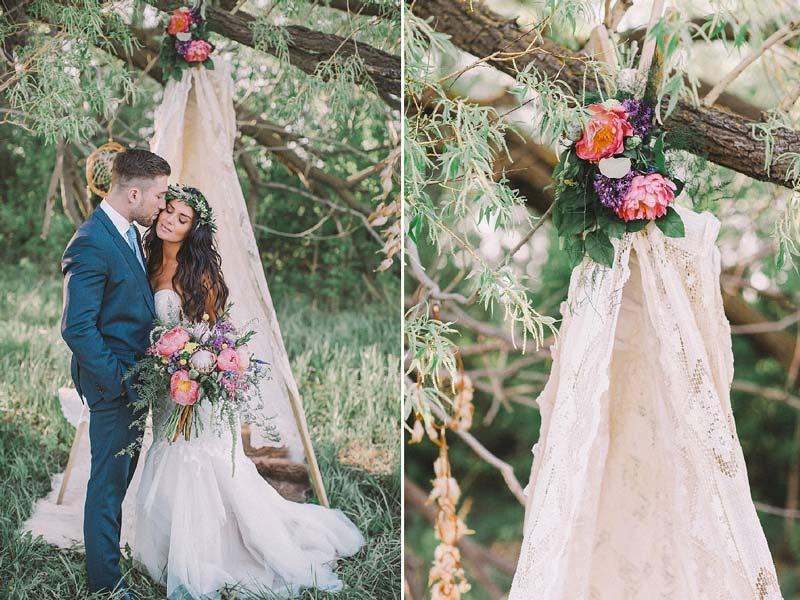 Ideias para decoração de casamento no campo