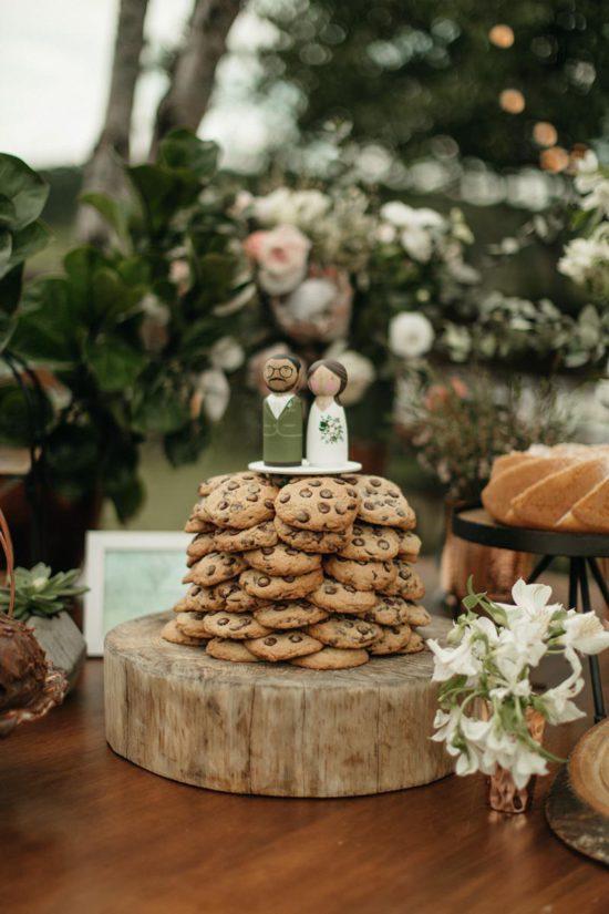 Coisinhas que amamos. Torre de cookies