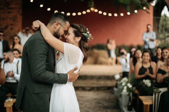 Casamento ao ar livre: Cyndi e Victor – Fazenda Paraizo Itu