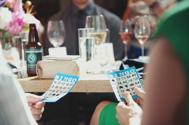 Bingo no casamento !