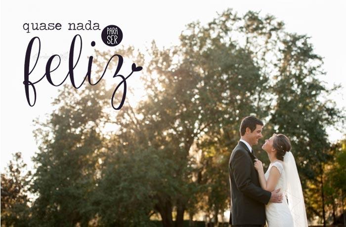 Inspiração: Quase nada para ser feliz (casamento econômico #10)