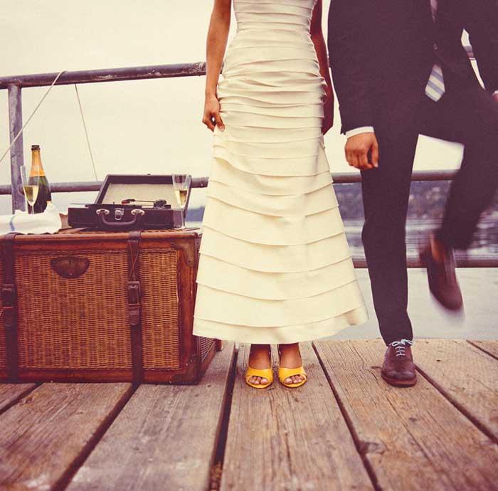 Inspiração: quase nada para ser feliz!!! (casamento econômico #1)