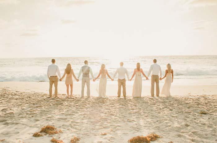 Casamento na praia: uma opção mais barata e diferente