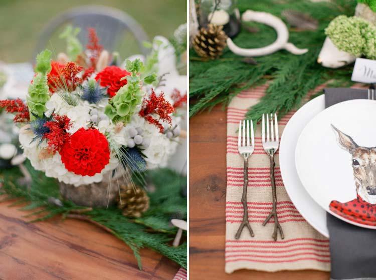 #coisinhasqueamamos: Decoração natalina em casamentos