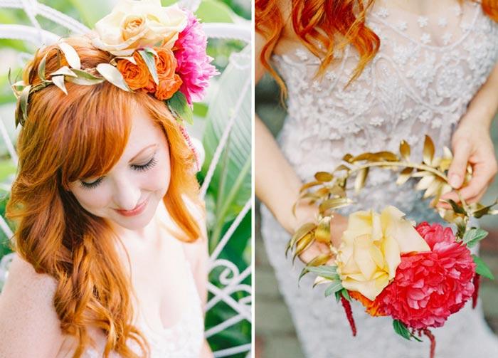 #coisinhasqueamamos: Coroa de flores