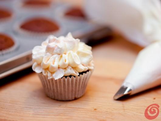 Receita de cupcake para o chá de cozinha