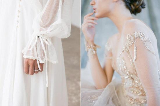 Coisinhas que amamos: detalhes no vestido de noiva