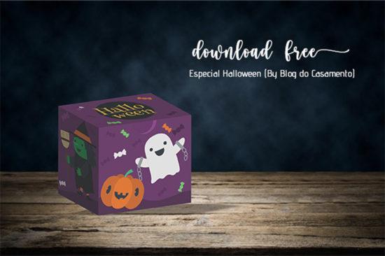 Caixinhas de doces para Halloween – Modelos gratuitos para baixar