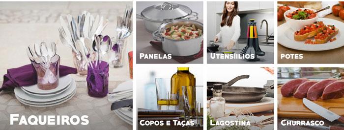 Novidade Fast Shop: Lista de utensílios para casa e decoração