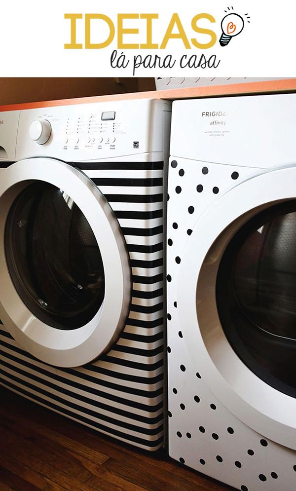 Dando um up na máquina de lavar