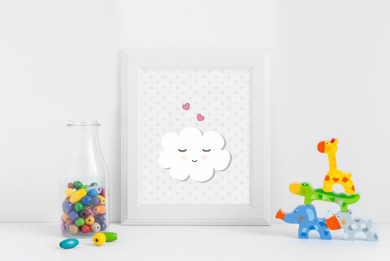 Posters gratuitos para você baixar e decorar o quartinho do seu bebê