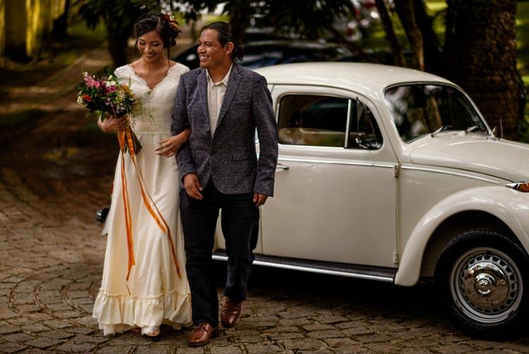 #coisinhasqueamamos: Fusca no casamento