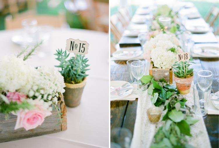 12 inspirações para numerar a mesa dos convidados