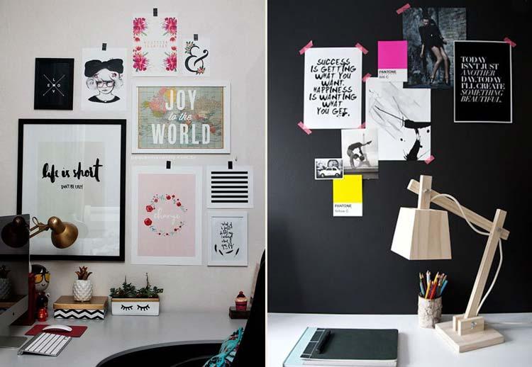 12 inspirações para você dar um up na parede da sua casa