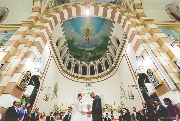 Porque a Paróquia Nossa Senhora Aparecida é perfeita para seu casamento