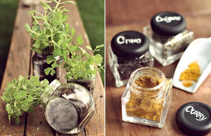 12 ideias para você reaproveitar frascos de vidro